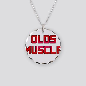Olds Muscle! Necklace Circle Charm
