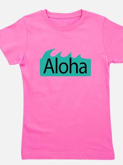Aloha Waves Girl's Tee