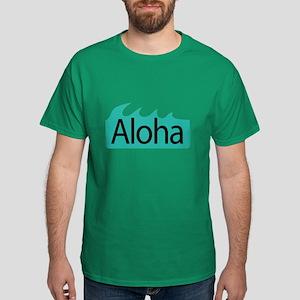 Aloha Waves Dark T-Shirt