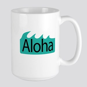 Aloha Waves Large Mug