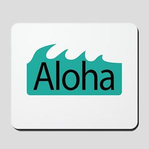 Aloha Waves Mousepad
