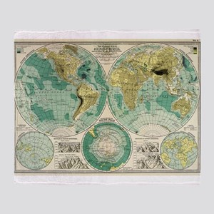 World map blankets cafepress old world map throw blanket gumiabroncs Gallery