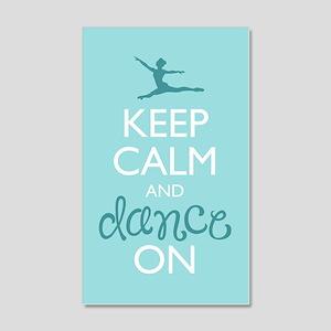 Keep Calm and Dance On Wall Decal