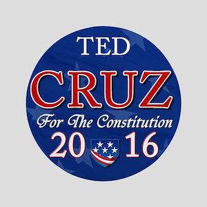 "Ted Cruz 2016 3.5"" Button"