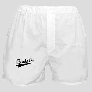 Llandeilo, Retro, Boxer Shorts