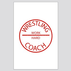 Wrestling Coach Large Poster