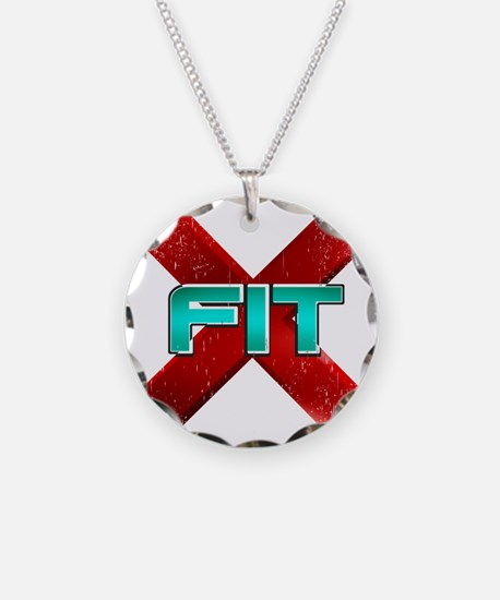 Cross Fit Workout! Necklace