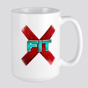 Cross Fit Workout! Large Mug
