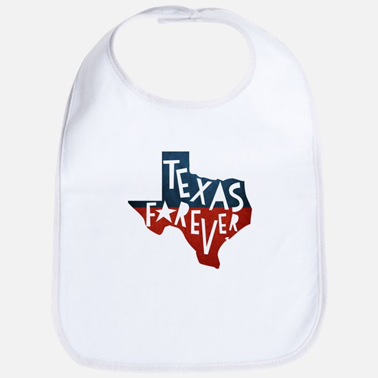 Texas Forever Baby Bib