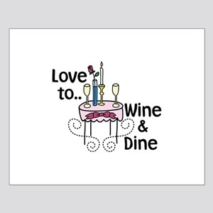 Love to WIne Dine Posters
