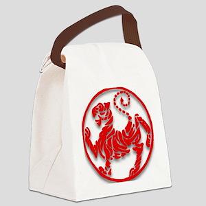 Shotokan Tiger Canvas Lunch Bag