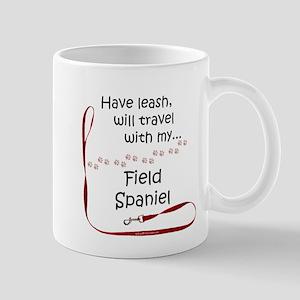Field Spaniel Travel Leash Mug