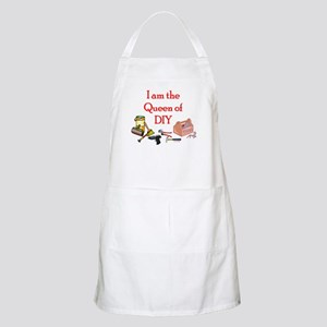 Queen of D.I.Y. BBQ Apron