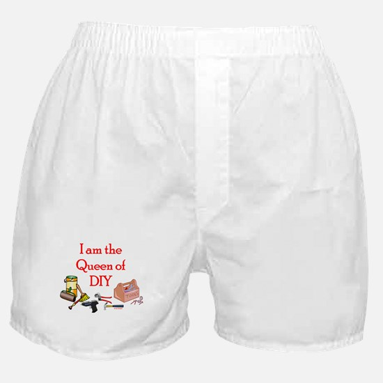 Queen of D.I.Y. Boxer Shorts