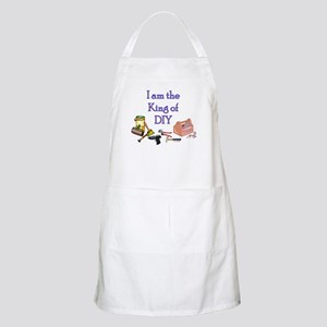 King of D.I.Y. BBQ Apron