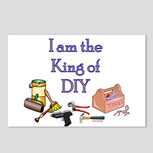 King of D.I.Y. Postcards (Package of 8)