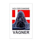 Holger Danske Vågner Mini Poster Print