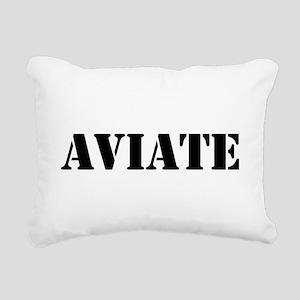 Aviate Rectangular Canvas Pillow