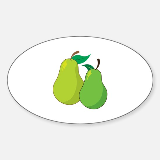 Pears Decal