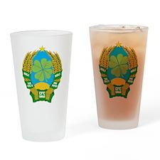 republik hail hail Drinking Glass