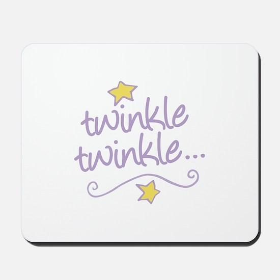 Twinkle Twinkle Mousepad