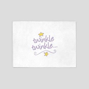 Twinkle Twinkle 5'x7'Area Rug