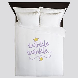 Twinkle Twinkle Queen Duvet