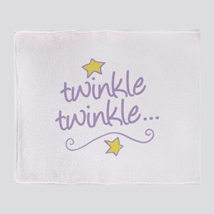 Twinkle Twinkle Throw Blanket