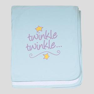 Twinkle Twinkle baby blanket