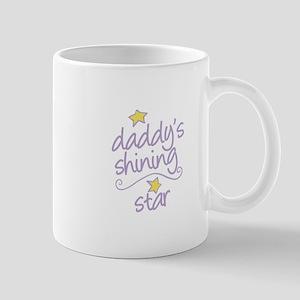 daddys shining star Mugs