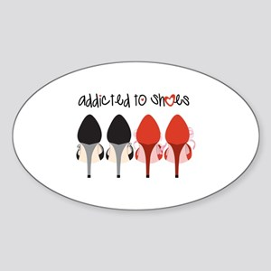 Addicted To Shoes Sticker