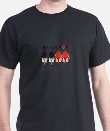 Addicted To Shoes T-Shirt