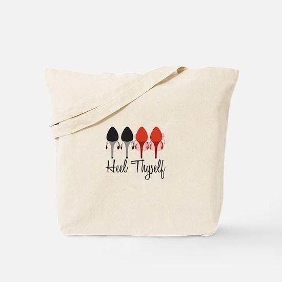 Heel Thyself Tote Bag