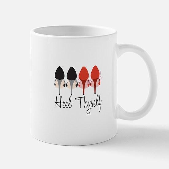Heel Thyself Mugs