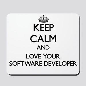 Keep Calm and Love your Software Developer Mousepa
