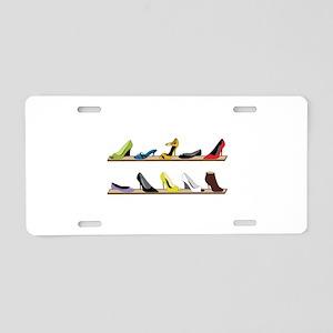Heeled Shoe Stack Aluminum License Plate