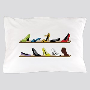 Heeled Shoe Stack Pillow Case