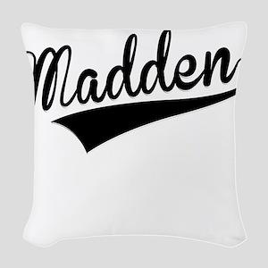 Madden, Retro, Woven Throw Pillow
