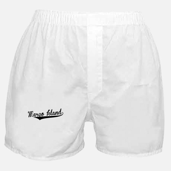 Marco Island, Retro, Boxer Shorts