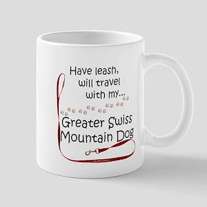 Swissy Travel Leash Mug