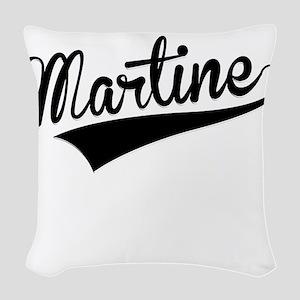 Martine, Retro, Woven Throw Pillow
