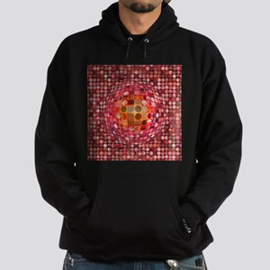 Optical Illusion Sphere - Pink Hoodie