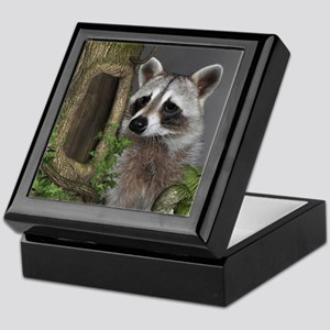 Raccoon Portrait Keepsake Box