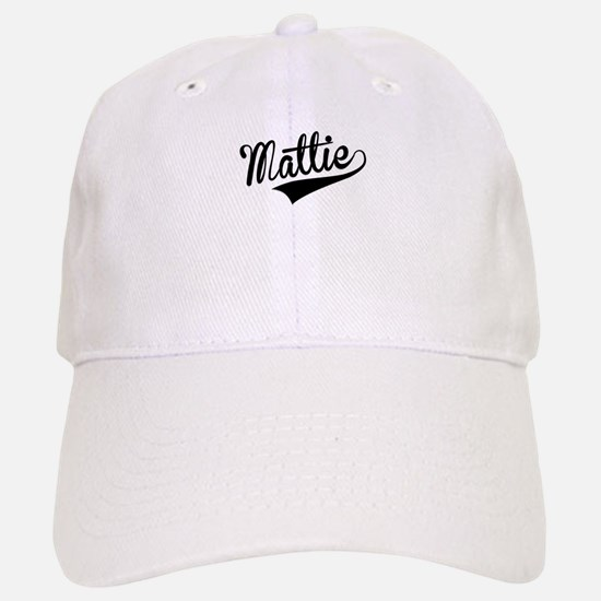 Mattie, Retro, Baseball Baseball Baseball Cap