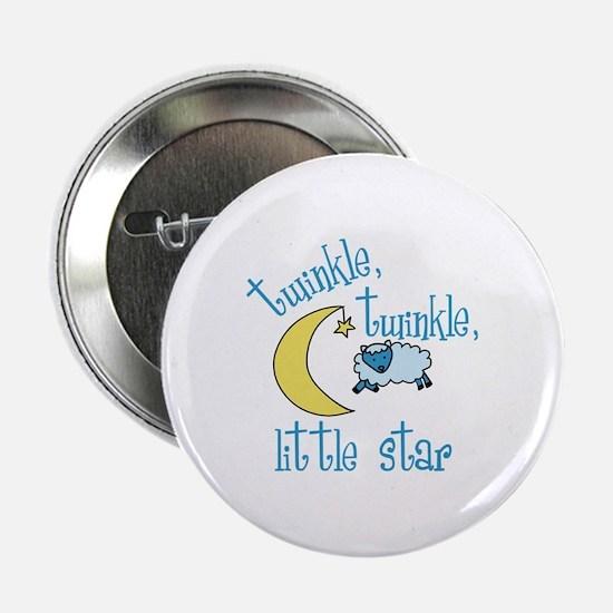 """twinkle, twinkle, little star 2.25"""" Button"""