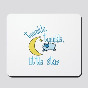 twinkle, twinkle, little star Mousepad