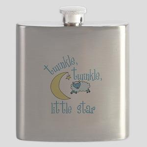 twinkle, twinkle, little star Flask