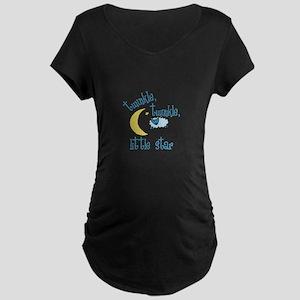 twinkle, twinkle, little star Maternity T-Shirt