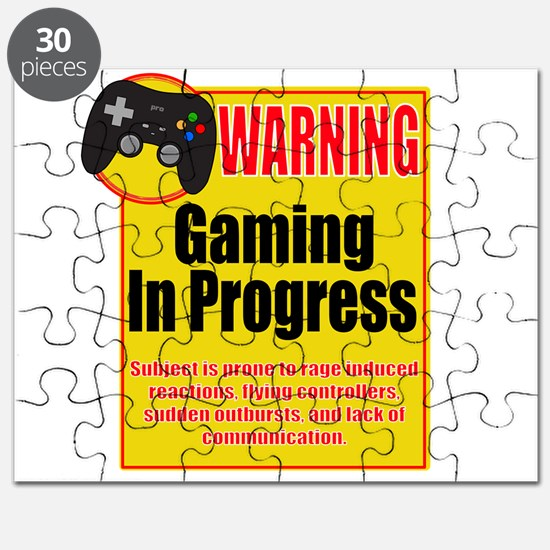 Gaming In Progress Puzzle