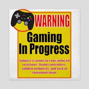 Gaming In Progress Queen Duvet